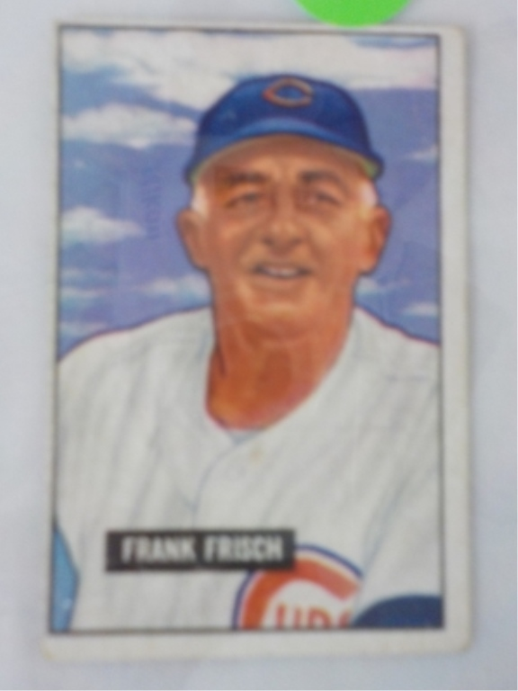 1951 Bowman High #282 Frank Frisch Card