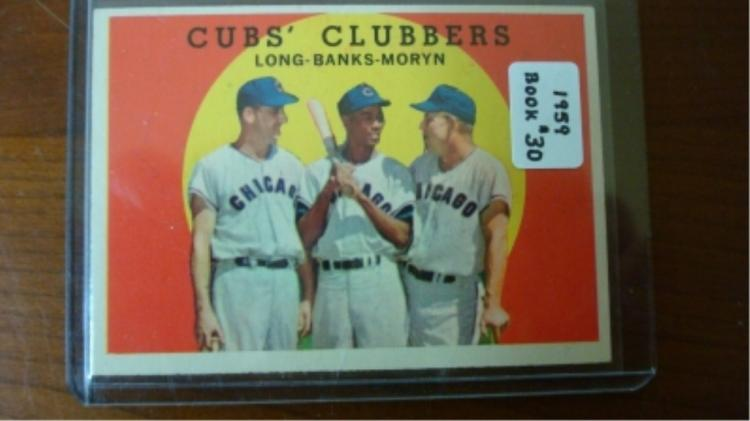 1959 TOPPS Cub's Clubbers Card EX