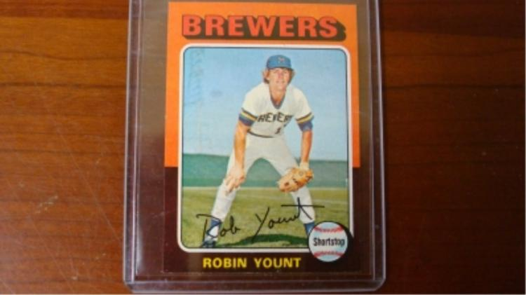 1975 TOPPS Robin Yount Rookie Mini Card NM+