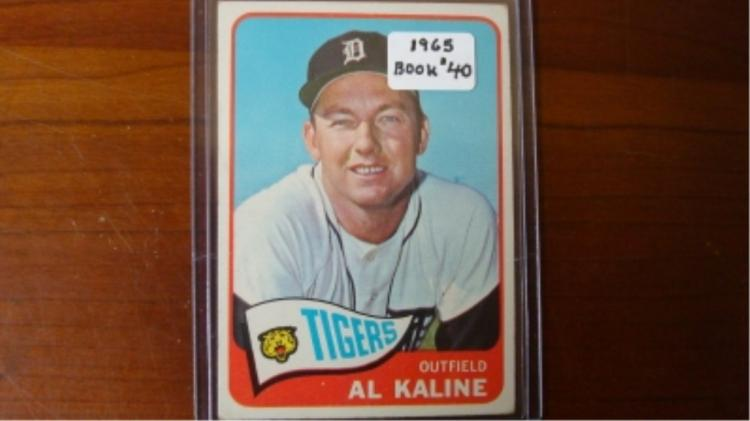 1965 TOPPS All Kaline Baseball Card VG-EX