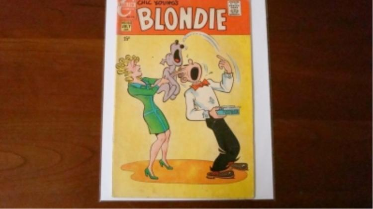 1940's Blondie Comic some wear