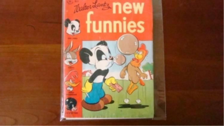 1940's New Funnies Comic w Woody Woodpecker