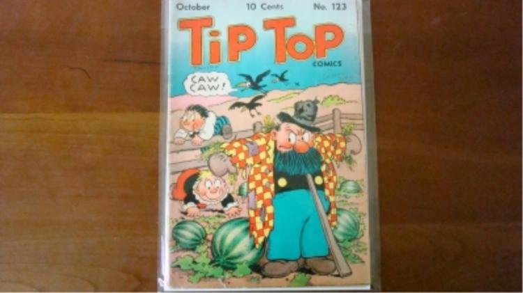 1940's Tip Top Comic No 123 some wear