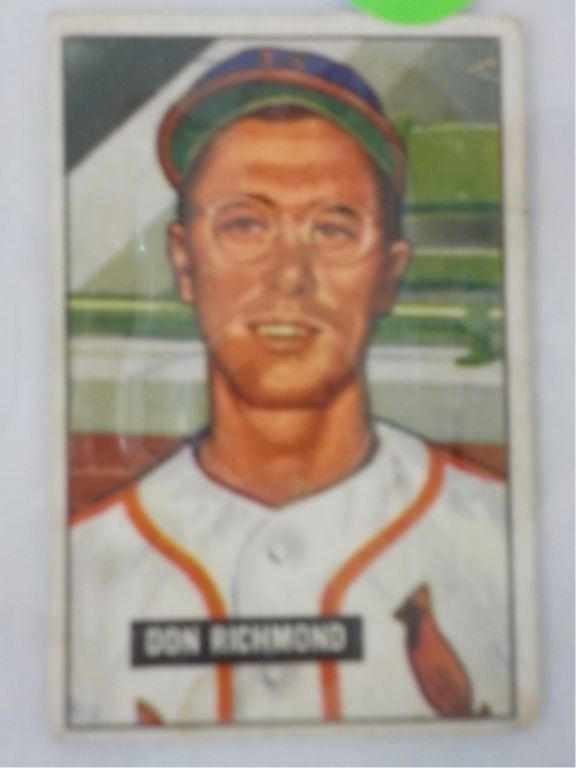 1951 Bowman High #264 Don Richmond Card