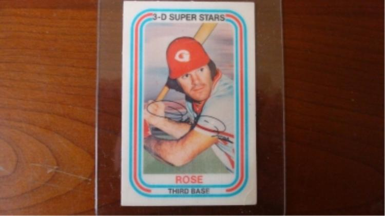 Kellogg's 3D Pete Rose Card 1976