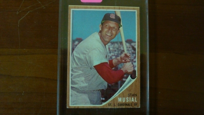 1962 TOPPS Stan Musial Card Ex-Mint