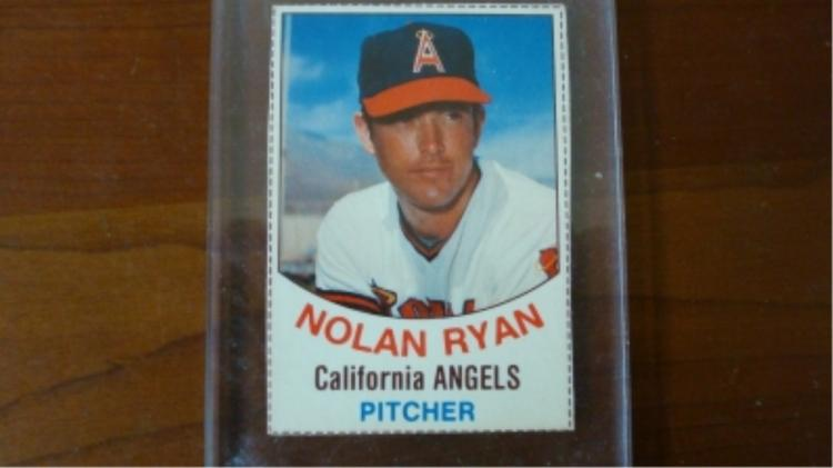 1977 Hostess Nolan Ryan Card