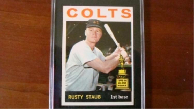 1964 TOPPS Rusty Staub Graded SGC EX/NM 80