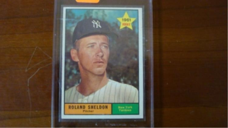 1961 TOPPS Tough High # 541 Roland Sheldon