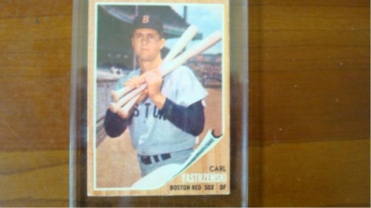 1962 TOPPS Carl Yastrzemski Great Centering EX+