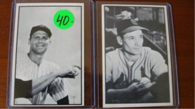 1953 Bowman Black & White Johnson/Miller (r)