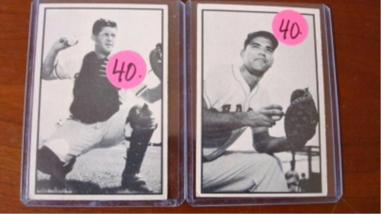 1953 Bowman Black & White Gernert/St Claire