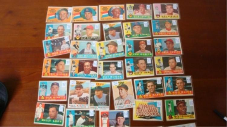 1960 TOPPS National League Cards (36) VG-EX