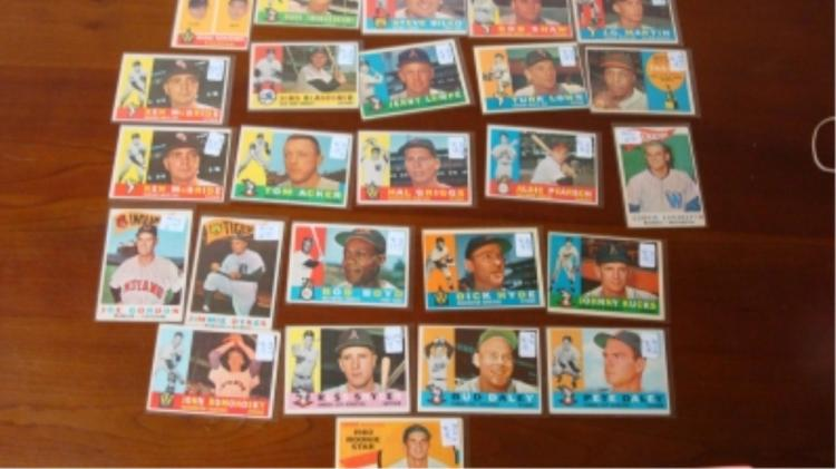 1960 TOPPS American League (25) VG-Ex