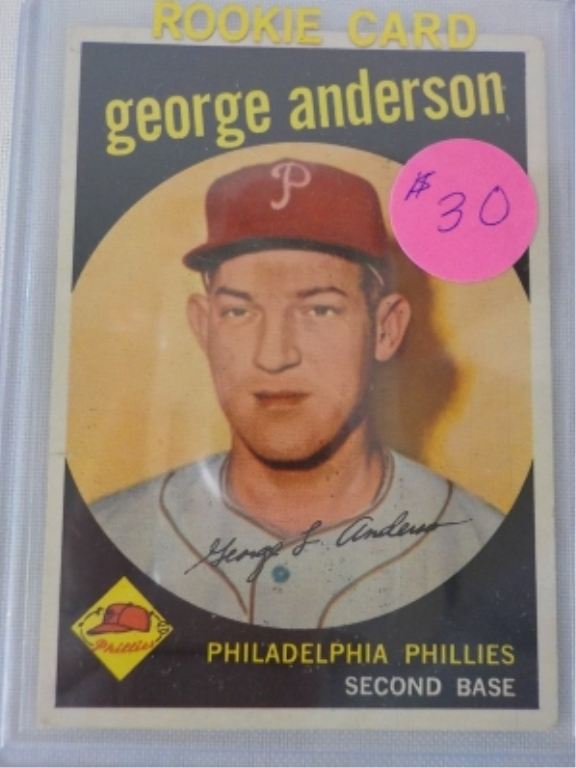 1959 TOPPS Sparky George Anderson Card