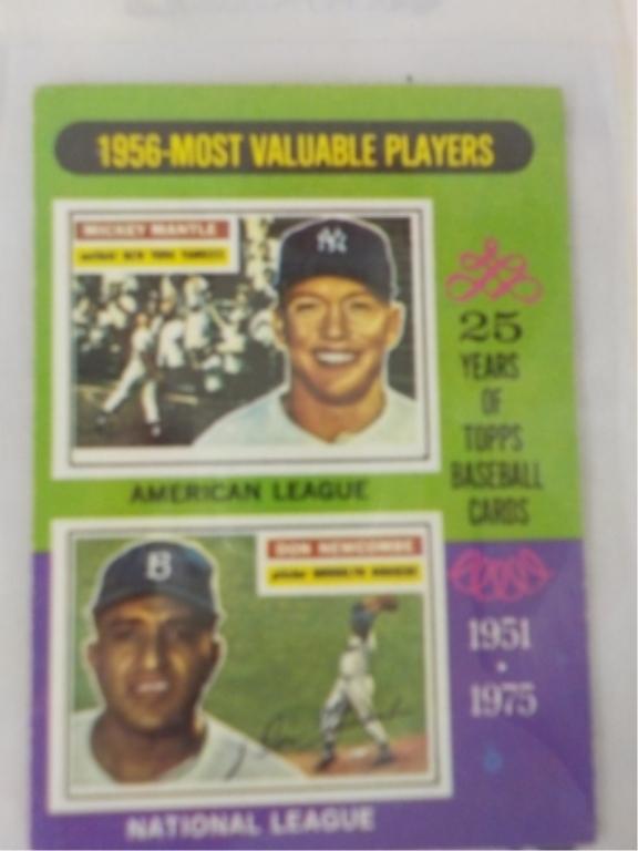 1975 TOPPS MVP Baseball Card