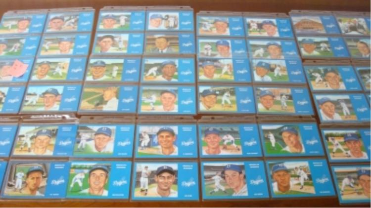 1981 Dodgers Postcards 33 Cards