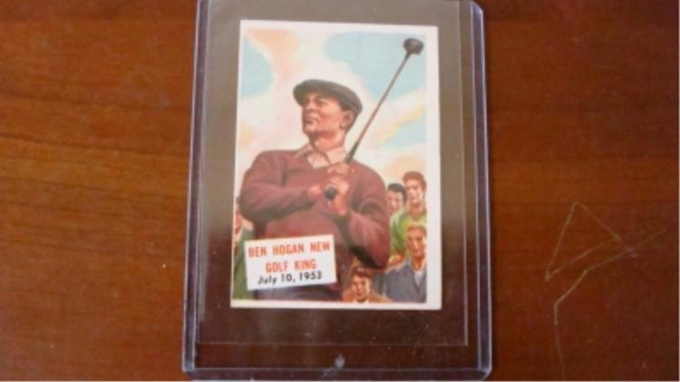 c. 1953 Scoops #129 Ben Hogan Sharp Corners