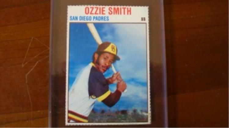 1979 Hostess Ozzie Smith Card