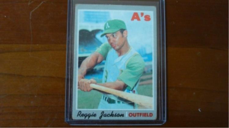 1980 TOPPS Reggie Jackson VG+ Corner Wear