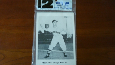 Jay Publishing 1961 12 White Sox's Photo's in Pack
