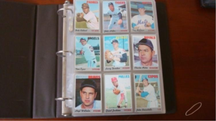 1970 ~380 TOPPS Starter Set up to high #'s EX