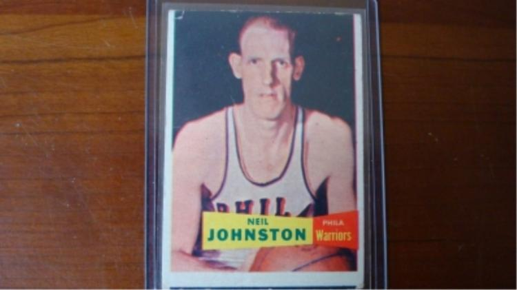 1957 TOPPS #3 Neil Johnson Basketball