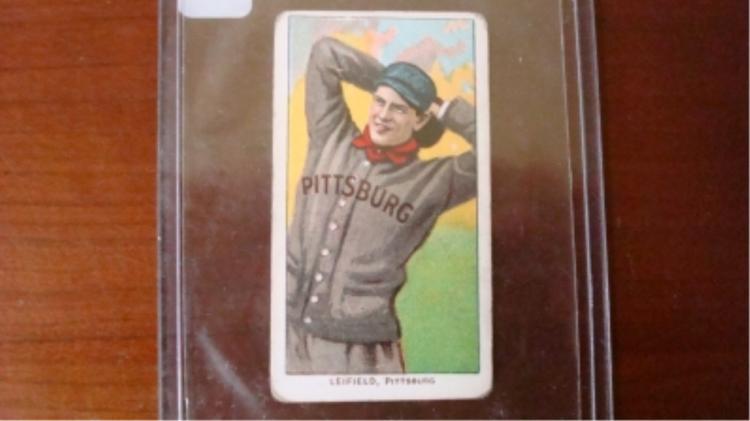 T206 Piedmont Cigarette Card Leifield