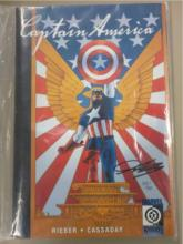 Captain America: The New Deal ~ Signed Cassaday
