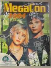Megacon 2004 Program Signed by Multiple Artists