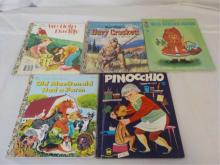 Children's Books 3 Little Golden, McNally, Wonder
