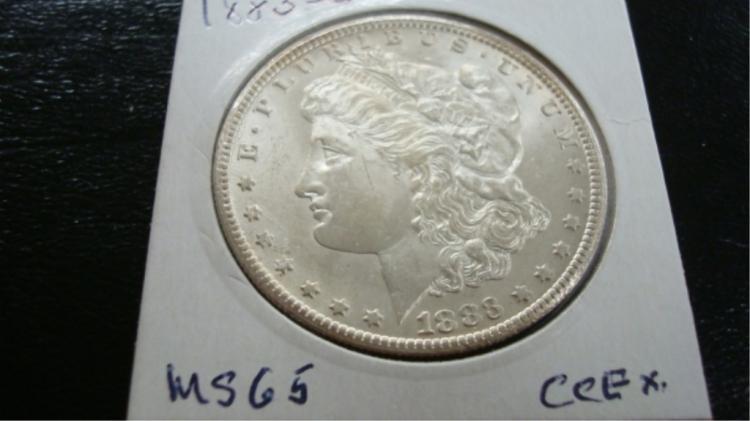 1883 -CC Morgan Silver Dollar UNC