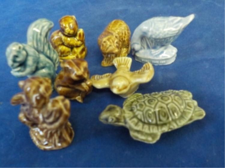 6 Wade Miniature Ceramic Animals
