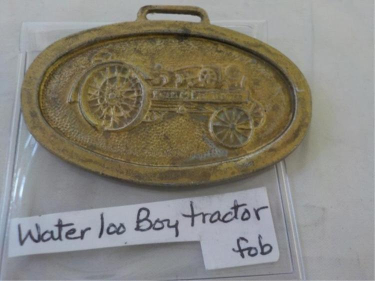 1920's Water Loo Boy John Deere Tractor Watch Fob