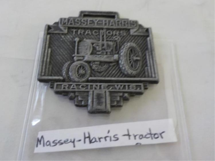 1930's Massey Harris Watch Fob