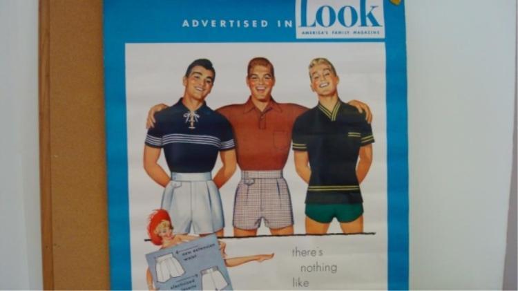 1930-1940 Jantzen Zip-Fit Bathing Suit Poster LOOK