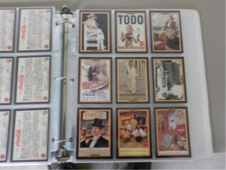 Coca Cola Advertising Cards 1993-94-95 Series 1-4