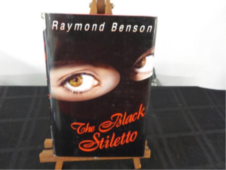 The Black Stiletto ~ Raymond Benson ~ Signed ~CD