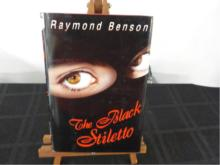 The Black Stiletto ~ Raymond Benson ~ Signed ~CD