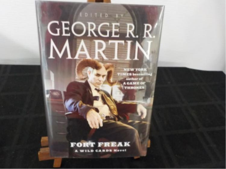 Fort Freak ~ George Martin ~ Signed 1st Edition