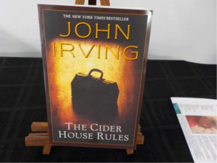 The Cider House Rules ~ John Irving ~ Signed
