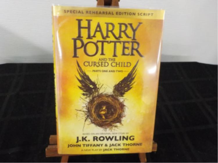Harry Potter Cursed Child ~ Rowlings ~ 1st Edition