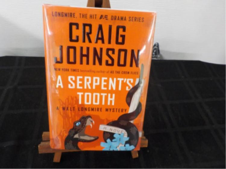 A Serpent's Tooth ~ Craig Johnson ~ Signed
