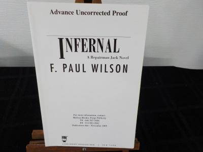 Infernal (Proof) ~ Wilson ~ Signed 1st Ed 2005