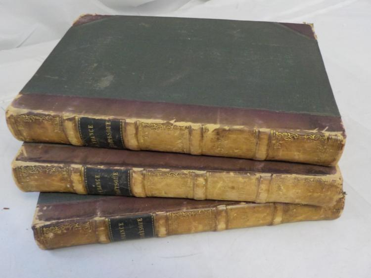 France Pittoreque ~1835 ~ Vol I,II, III