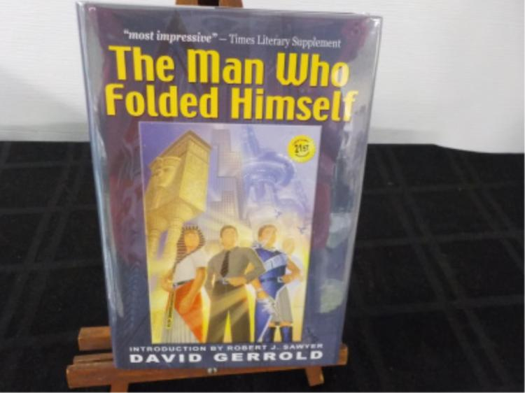 The Man Who Folded Himself ~ Gerrold ~ Signed 1st