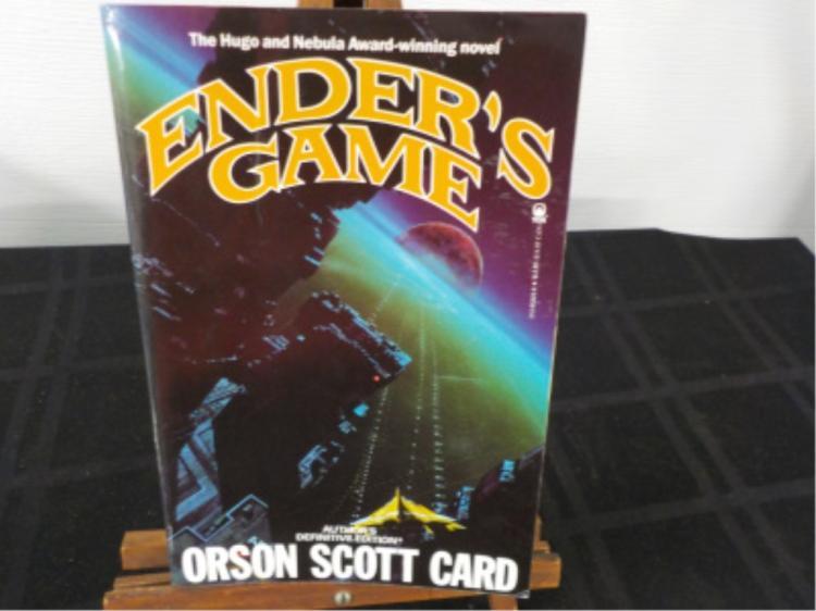 Ender's Game ~ Orson Scott Card ~ 1st Ed Signed