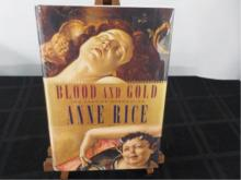 Blood and Gold ~ Anne Rice ~ Signed ~ 1st Ed