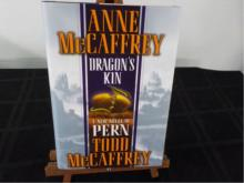Dragon's Kin ~ McCaffrey ~ 2003 1st Signed by both