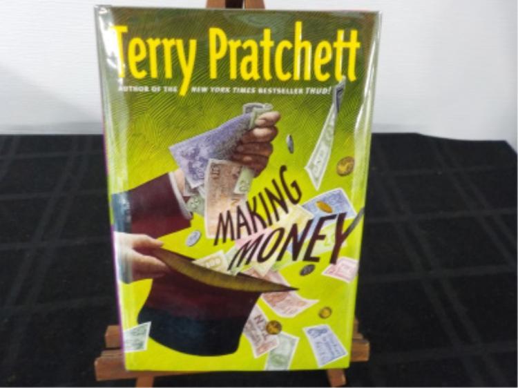 Making Money ~ Pratchett ~ Signed 1st 2007